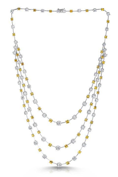 Yellow, Photograph, White, Jewellery, Fashion accessory, Amber, Fashion, Black, Body jewelry, Necklace,