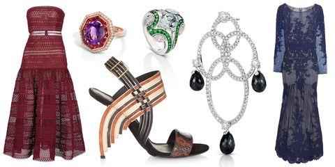 Fashion accessory, Pattern, Fashion, Jewellery, Body jewelry, Natural material, Design, Earrings, Gemstone, Fashion design,
