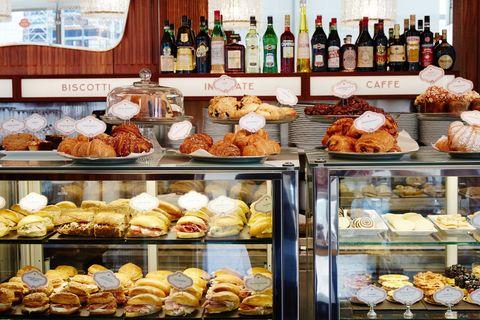 Food, Cuisine, Baked goods, Bottle, Dessert, Dish, Bakery, Drink, Glass bottle, Sweetness,