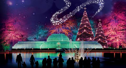 bask in the glow of the lights - Christmas In London