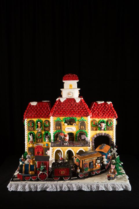 House, Christmas, Toy,