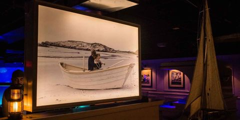 Maritime museum, Tourist attraction, Museum, Vehicle, Night, Stage, Boat,