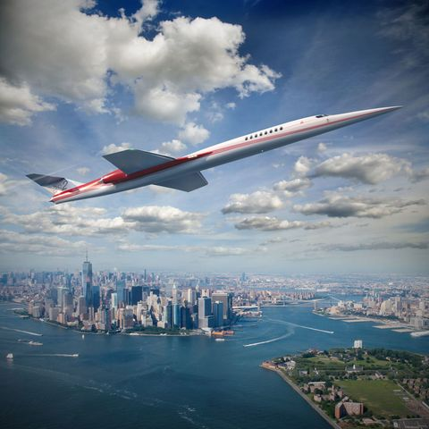 Airplane, Sky, Cloud, Aircraft, Flight, Urban area, Airliner, City, Metropolitan area, Airline,