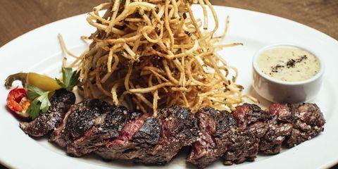 Food, Cuisine, Beef, Ingredient, Dishware, Dish, Tableware, Serveware, Plate, Meat,