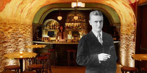 Lighting, Barware, Interior design, Light fixture, Bar stool, Restaurant, Drinking establishment, Tavern, Picture frame, Stool,