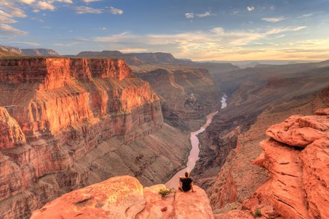 "<p>Ah, the Grand Canyon, a true bucket list destination. It's unlikely a list about camping has ever missed this American treasure, though that doesn't discount its awe inspiring nature. In fact, views from the <a target=""_blank"" href=""http://www.nps.gov/grca/planyourvisit/cg-nr.htm"">North Rim</a> are in effect the very definition of breathtaking. The area's most accessible campground features tent and RV camping , and is the kind of place you'll still be talking about months later.</p>"