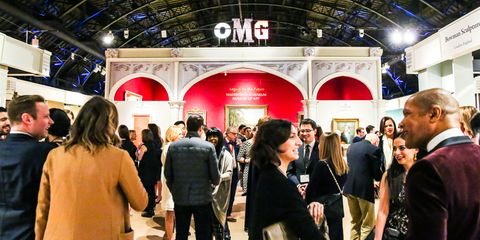 Luggage and bags, Exhibition, Customer, Conversation, Handbag, Hall, Shopping, Backpack,