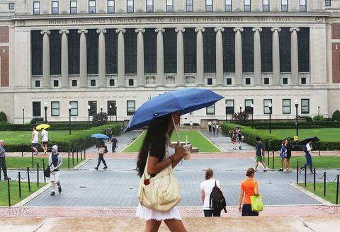 Umbrella, Public space, Architecture, Tourism, City, Urban area, Vacation, Building, Summer, Tree,