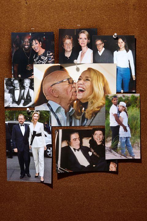Head, Photograph, Coat, Suit, Formal wear, Collage, Love, Tie, Ceremony, Kiss,