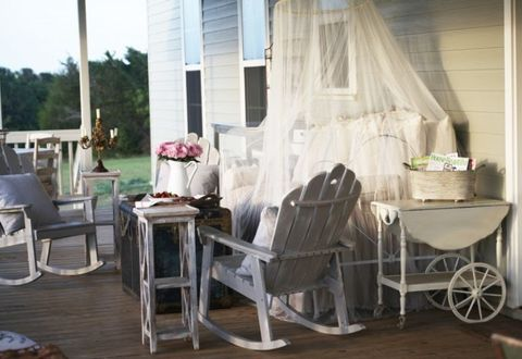 Window treatment, Home, Window covering, Curtain, Outdoor furniture, Shade, Wood flooring, Outdoor table, Cart, Daylighting,