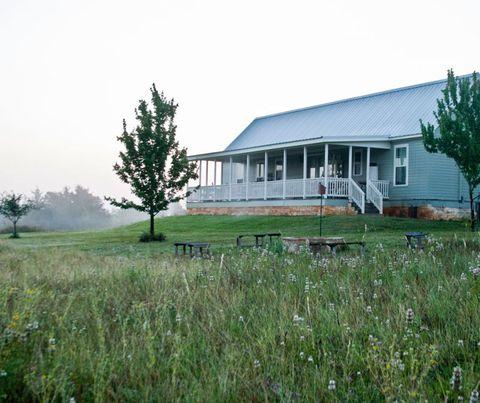 Plant, House, Land lot, Grassland, Plain, Home, Rural area, Roof, Pasture, Siding,