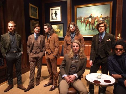 Face, Human, Picture frame, Fashion, Blazer, Conversation, Suit trousers, Scene, Drama, Acting,