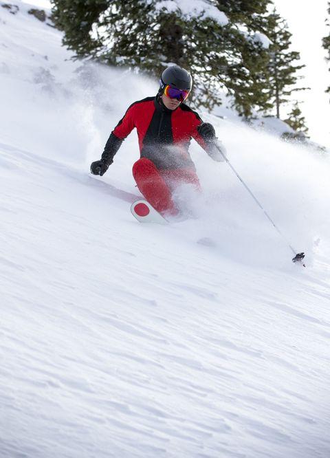 Winter sport, Winter, Recreation, Sports equipment, Slope, Skier, Ski Equipment, Outdoor recreation, Snow, Helmet,