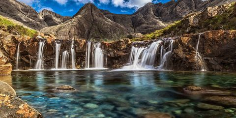 Body of water, Nature, Natural landscape, Mountainous landforms, Water resources, Water, Highland, Landscape, Watercourse, Mountain,