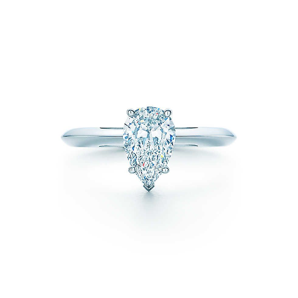 pear shaped engagement ring pear shaped wedding ring