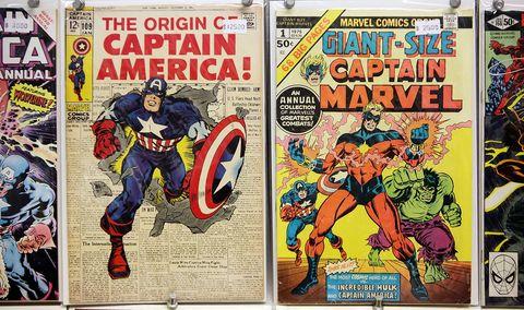 Comic book, Comics, Fictional character, Publication, Hero, Fiction, Superhero, Cartoon, Poster, Animated cartoon,