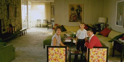 Room, Interior design, Furniture, Table, Lamp, Interior design, Living room, Curtain, Window covering, Window treatment,