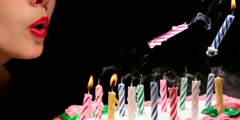 Lip, Birthday candle, Event, Cake, Dessert, Sweetness, Ingredient, Food, Baked goods, Candle,