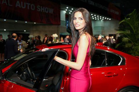 Automotive design, Event, Car, Auto show, Personal luxury car, Exhibition, Fashion, Alloy wheel, Full-size car, Model,