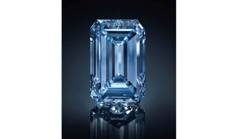 Rare Blue Diamond Sets A New Record At Auction