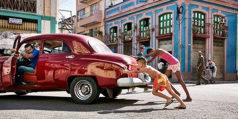 Tire, Window, Vehicle, Land vehicle, Car, Town, Classic car, Street, Classic, Antique car,