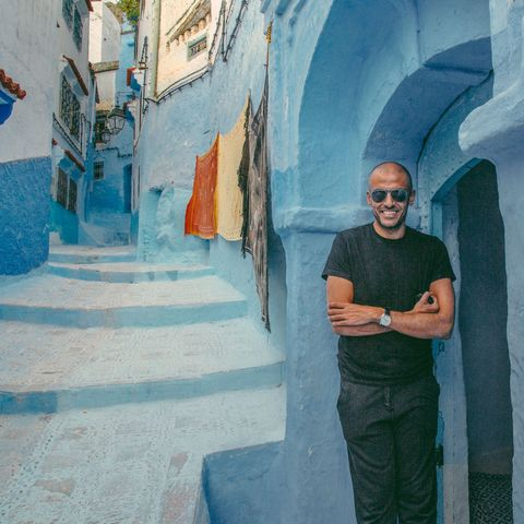 Blue, Infrastructure, Wall, Sunglasses, Paint, Street, Azure, Aqua, Alley, Turquoise,