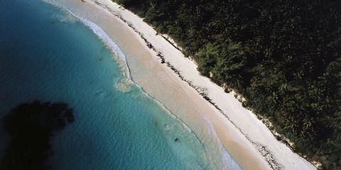 Body of water, Coastal and oceanic landforms, Coast, Natural environment, Shore, Water resources, Landscape, Sand, Bay, Aqua,