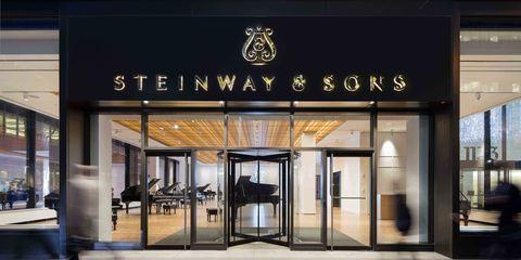 Glass, Fixture, Commercial building, Door, Outlet store,