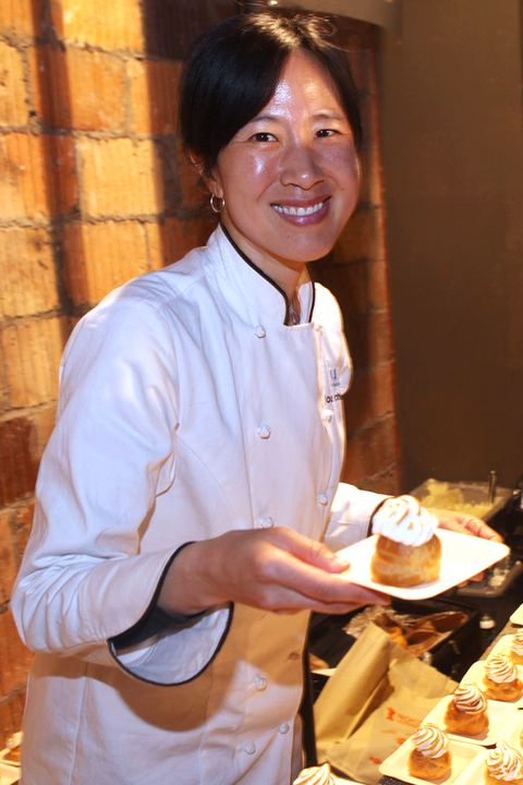 <p>Chang is an honors graduate of Harvard College, and left her career as a management consultant to become a chef. She started at Biba in Boston, and throughout the 90's Chang worked at Bentonwood Bakery in Newton, Rialto in Cambridge, and the acclaimed Payard Bistro in New York City. She later returned to Boston and opened Flour in 2000. She also opened Chinese restaurant Myers + Chang, which is also up for a James Beard Award this year. She is a marathon runner and author of three cookbooks. Chang has been nominated for multiple James Beard Awards.</p>
