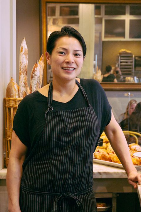 """<p>Belinda Leong began her career as a pastry chef at Restaurant Gary Danko in San Francisco in 1999. After eight successful years, she left the restaurant for Europe to stage at some of the most esteemed restaurants and patisseries in Paris, Barcelona, and Copenhagen. After two years in Europe, Leong returned to the Bay Area and became pastry chef at Manresa Restaurant, a two star Michelin Restaurant, in Los Gatos, California before opening <a href=""""http://bpatisserie.com/story/"""" target=""""_blank"""">b. Patisserie</a>. Leong was nominated for a James Beard Award in 2014 for Best Pastry Chef.</p>"""