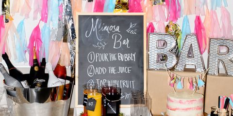 how to make a mimosa bar for brunch