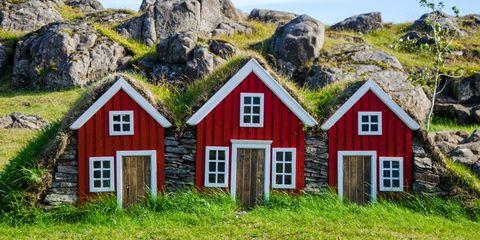 Window, House, Land lot, Facade, Rural area, Rock, Bedrock, Terrain, Roof, Door,
