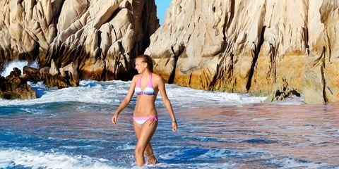 Fun, Brassiere, Swimwear, Swimsuit top, Rock, Bikini, Summer, Undergarment, Bedrock, Outcrop,