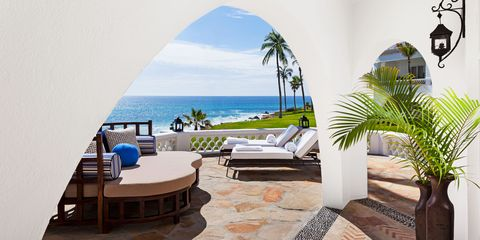 Coastal and oceanic landforms, Property, Furniture, Resort, Real estate, Interior design, Outdoor furniture, Ocean, Arecales, Azure,
