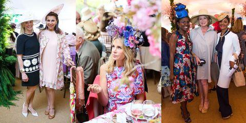 Dress, Hat, Fashion accessory, Headgear, Hair accessory, Purple, Costume accessory, Headpiece, Lavender, Tradition,