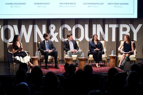 Next gen panel, Town & Country Philanthropy Summit