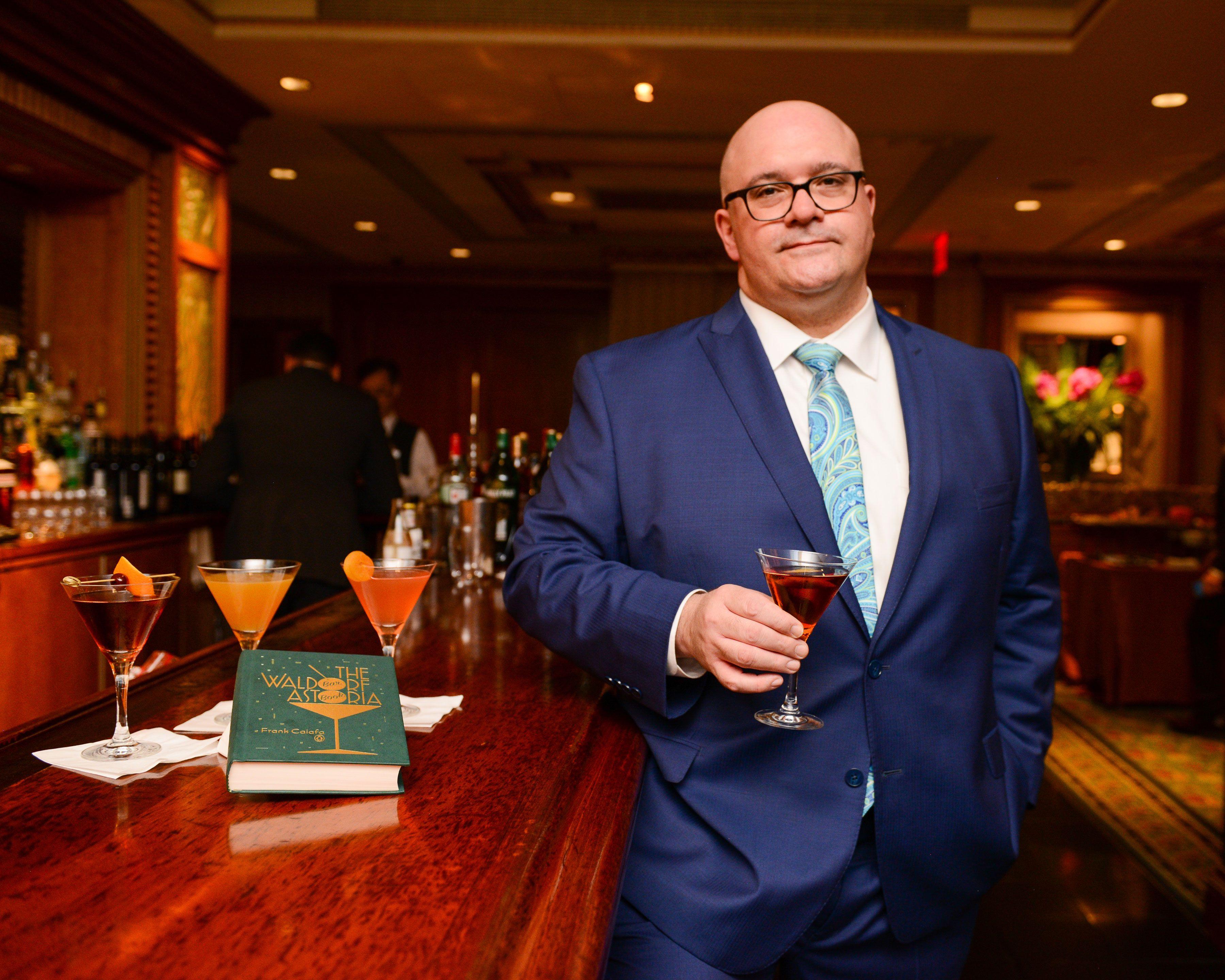 Frank Caiafa's New Book Reveals the Cocktail Secrets of the Waldorf Astoria