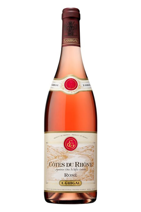 """<p>The Guigal family has been making rosé since the 1940s, so it's safe to say they know what they're doing. The grapes are specifically grown to make superior rosé wines—but the price is really the kicker. </p><p>$15, <a href=""""http://www.totalwine.com/wine/rose-blush-wine/rhone-blend/guigal-cotes-du-rhone-rose/p/96670750"""" target=""""_blank"""">totalwine.com</a></p>"""