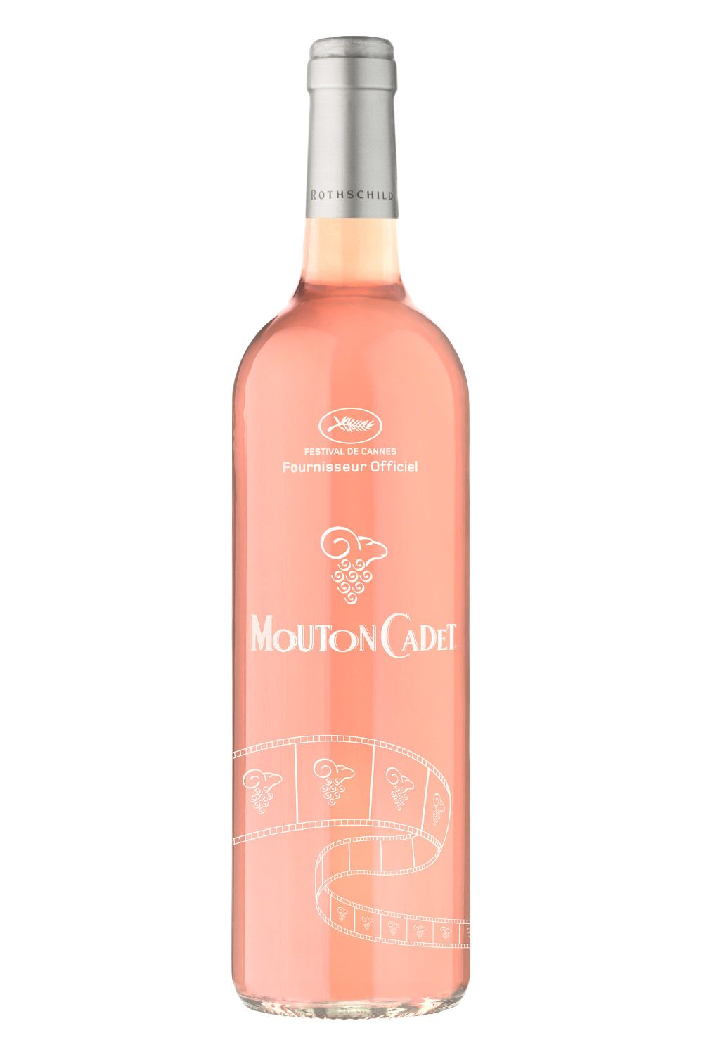 "<p>As the official wine of the Cannes Festival, this fruit-forward rosé features pink grapefruit and cherry notes, and has a nice citrus finish—perfect for patio/poolside/sun lounging. </p><p>$13, <a href=""http://www.moutoncadet.com/?post_type=gamme&p=1011&lang=en"" target=""_blank"">moutoncadet.com</a></p>"