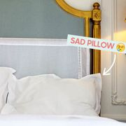 Yellow, White, Wall, Font, Grey, Symbol, Material property, Brass, Pillow, Linens,