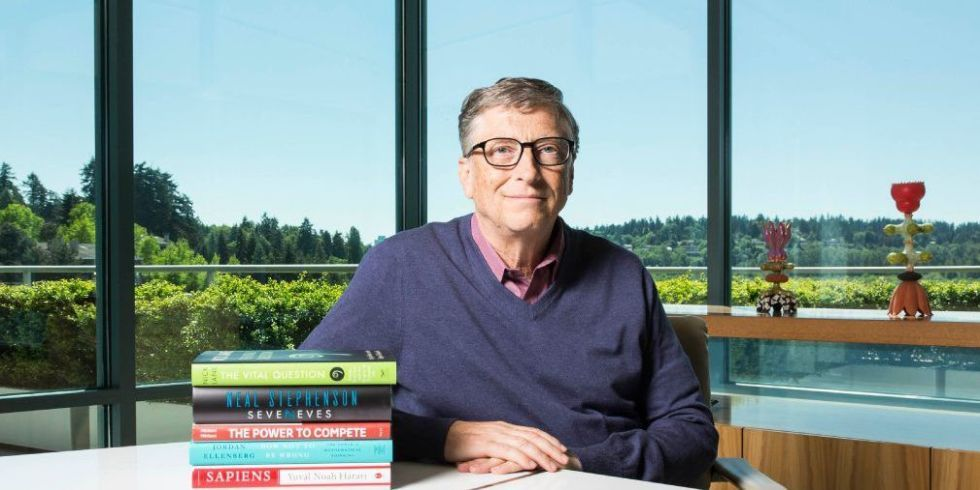 The 5 Books Bill Gates Recommends Reading this Summer