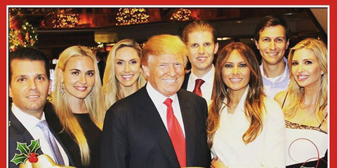 Trump Family Photos Instagram Pictures Of Donald Trump S Family