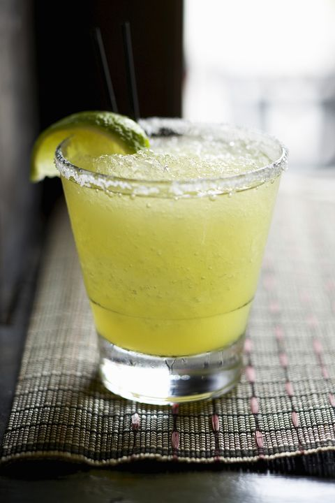 "<p>To be a very popular girl at your <a href=""http://www.marieclaire.com/celebrity-lifestyle/jell-o-shot-recipes-fourth-of-july"">next party</a>, whip <a href=""http://www.rachaelraymag.com/Recipes/beer-margaritas"">this mixture</a> up in the blender. Pour in four bottles or cans of beer, one cup of tequila, and one can of frozen limeade concentrate (or whatever similar is available in your local grocery store freezer). Add more ice depending how frosty you want it to be.</p>"