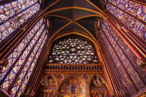 "<p>One of the most extraordinary churches you'll ever see, this royal medieval <a href=""http://www.sainte-chapelle.fr/en"" target=""_blank"">chapel</a> with its impressive gothic architecture and stunning 13th-century stained glass windows, is not to be missed. </p>"