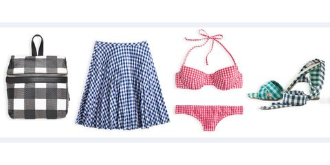 gingham clothing and accessories