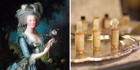 Dress, Petal, Hair accessory, Headpiece, Peach, Rose, Bouquet, Artwork, Artificial flower, Cut flowers,