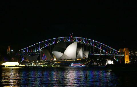 Night, Architecture, Waterway, Metropolitan area, Metropolis, Fixed link, City, Landmark, Darkness, Bridge,
