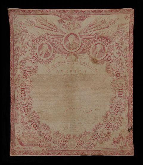 Textile, Pattern, Rectangle, Beige, Visual arts, Peach, Circle, Paper product, Motif, Paper,