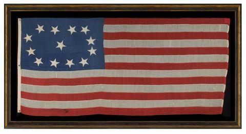 Flag of the united states, Red, Flag, Line, Pattern, Carmine, Rectangle, World, Parallel, Cobalt blue,