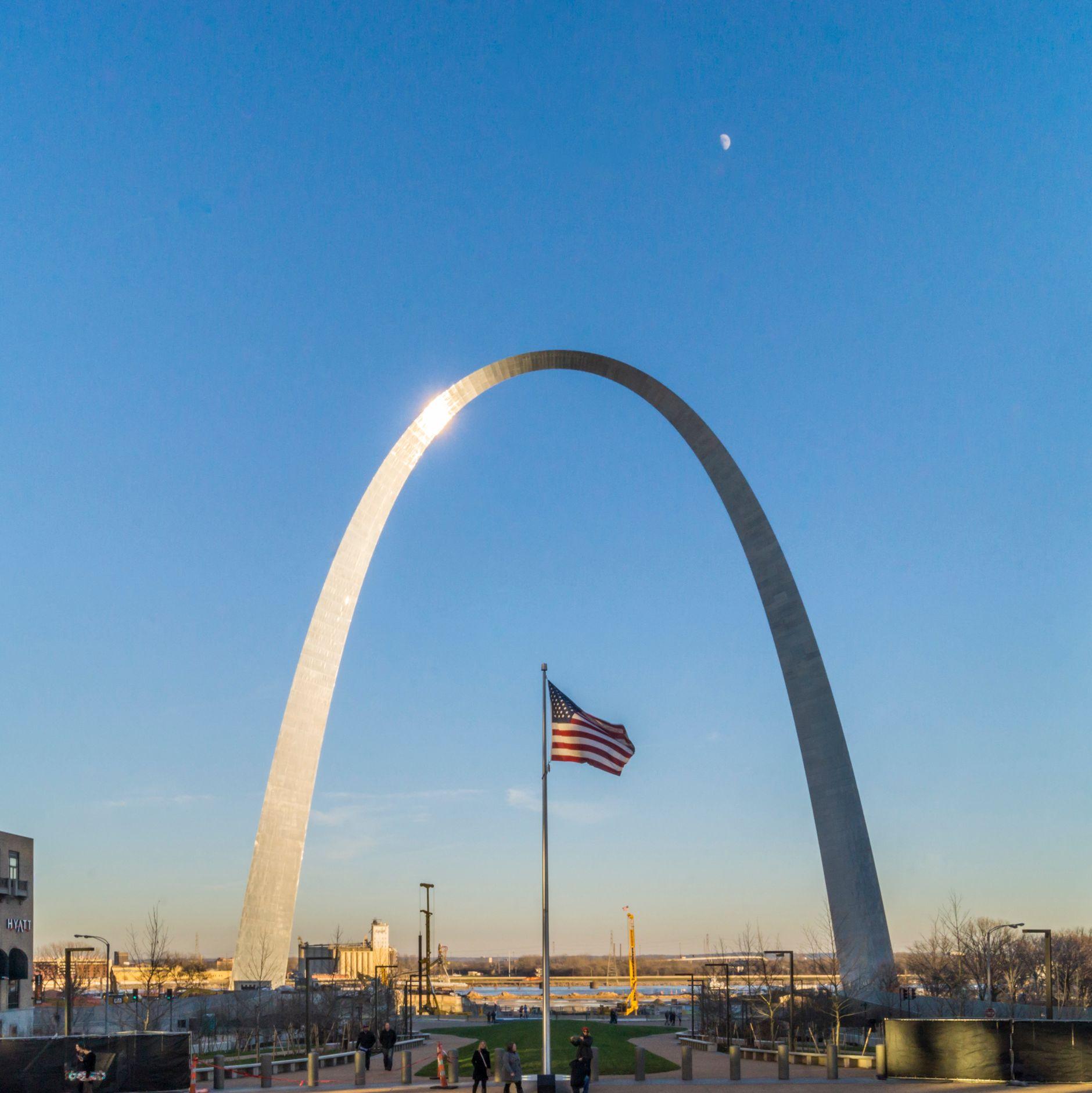 gateway arch famous landmarks
